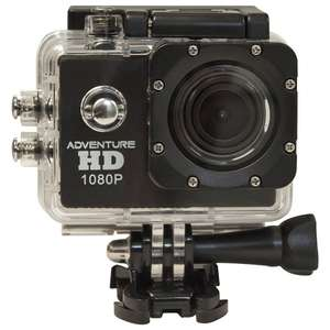 Waterproof video camcorder at IWOOT for £17.99 (£2.99 delivery under £30)