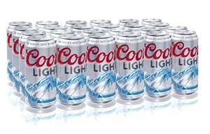 24 Coors light 440ml cans £14.40 Prime / £18.89 Non Prime - amazon