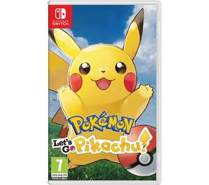 Pokemon Let's Go Pikachu Game for Nintendo Switch £36 Pre-Order @ Currys