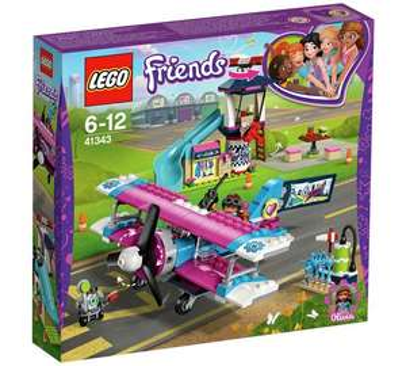 LEGO Friends Heartlake Airplane Tour 41343 @ Argos £19.99