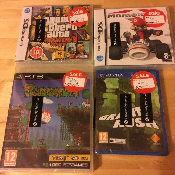 Game Clearance @ Asda - Mario Kart DS, GTA Chinatown Wars £6, + more - instore @ Asda (Leeds)