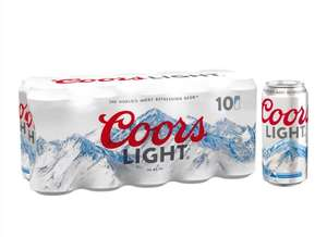 Coors light lager 10x440ml pack reduced to £6 each at Morrisons. In store and online.