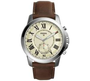 Fossil Men's Grant FS4735IE normal or smart ftw1118 same price  Brown Strap Chronograph  £79.99 @ Argos