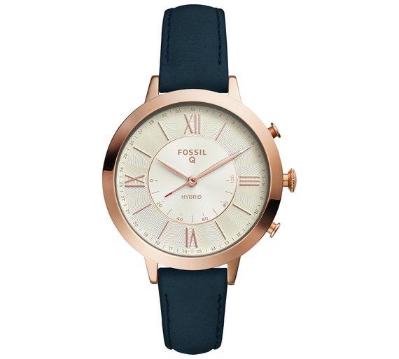 Fossil Q Ladies' Jacqueline Leather Strap Hybrid Smart Watch £79.49 @ Argos