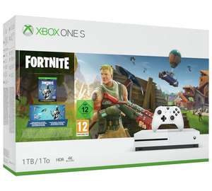 Buy Xbox One S Fortnite bundle with Forza Horizon 4 for £249.99. Also add steel series arctic 3 headset worth £49.99 for £20.99 @ Argos