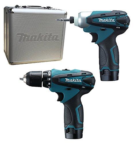 £85 - Makita LCT 204 2 x 1.3Ah 10.8v Cordless Drill Plus Impact Driver - Blue @ Amazon