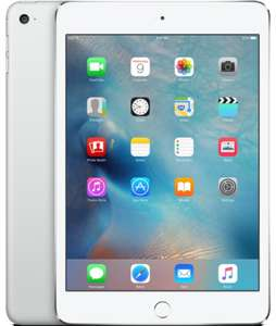 iPad mini 4 4G 128GB silver at Ebuyer for £312.99