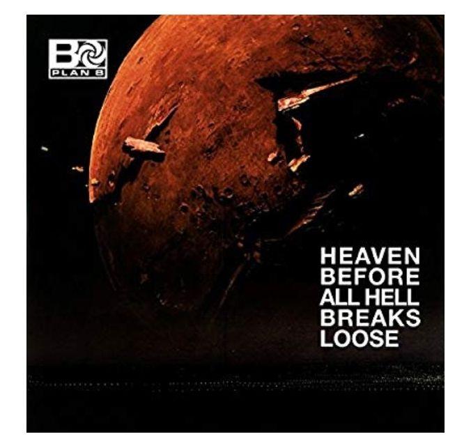 Plan B - Heaven Before All Hell Breaks Loose Vinyl @ Amazon £10.37 Prime (£13.84 non-Prime)
