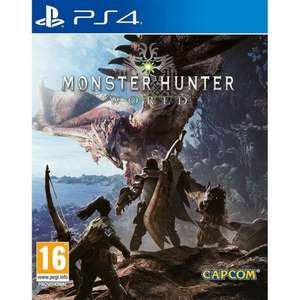 Monster Hunter World (PS4) New @ The Game Collection for £23.95