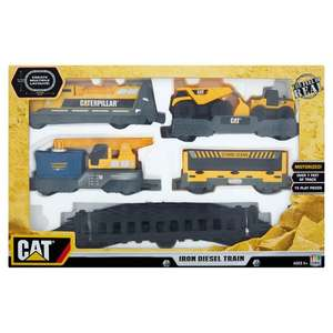 Cat Construction Iron Diesel Train Set £13 - Morrisons