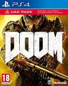 Doom PS4 (pre-owned) £2.87 @ musicMagpie