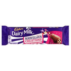 Cadbury Dairy Milk Marvellous Creations Jelly Popping Candy! 5 for £1.00 (minimum spend £30 + £5.99 P&P) @ Approved food