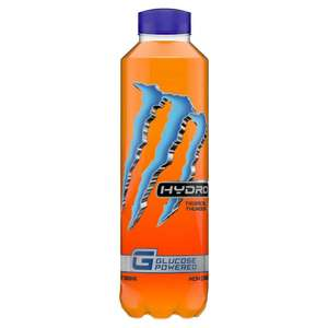 Monster Hydro Tropical Thunder 550ml 3 for 99p (minimum spend £30 + £5.99 P&P) @ Approved food