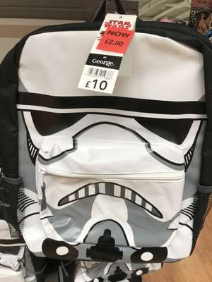 Star Wars storm trooper backpack £2 Asda - Handsworth Sheffield