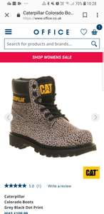 Caterpillar Colorado boots was £109.99 now £40 At Office - free c&c