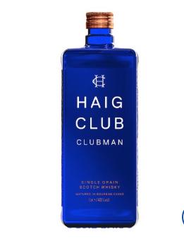 Haig Club Clubman Whisky 1L £22.00 @ Tesco
