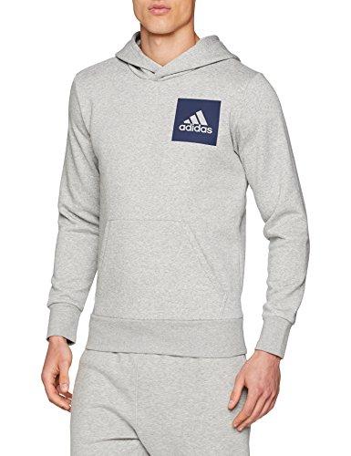 Adidas Essentials Logo Large hoodie hoody grey Large £12.62 prime / £17.11 non prime @ amazon