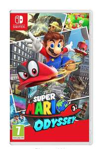 [Nintendo Switch] Super Mario Odyssey £40 from Amazon with free delivery