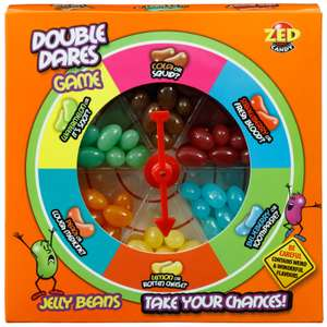 3RD Edition Double Dares Jelly Bean Game £1.99 at B&M - 2 New Weird Flavours