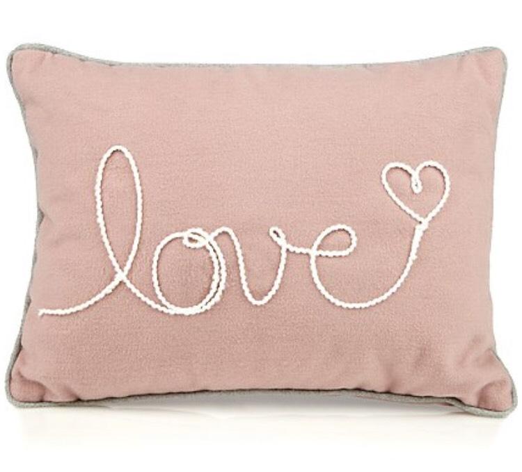 Pink love cushion £1.75 @ Asda free c+c