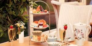 Surrey Afternoon Tea for Two with Prosecco + All Day Access to Spa Facilites + Robe and towel Hire included £29 at Travelzoo