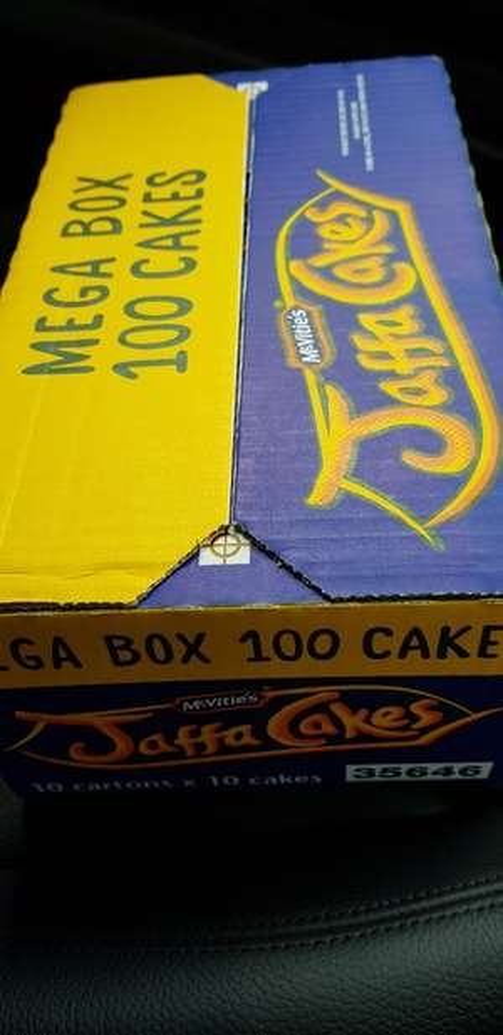 McVitie's 100 Jaffa cakes Mega Box £4 Iceland instore