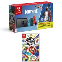 Nintendo Switch Fortnite Bundle + Super Mario Party £299.99 @ Game