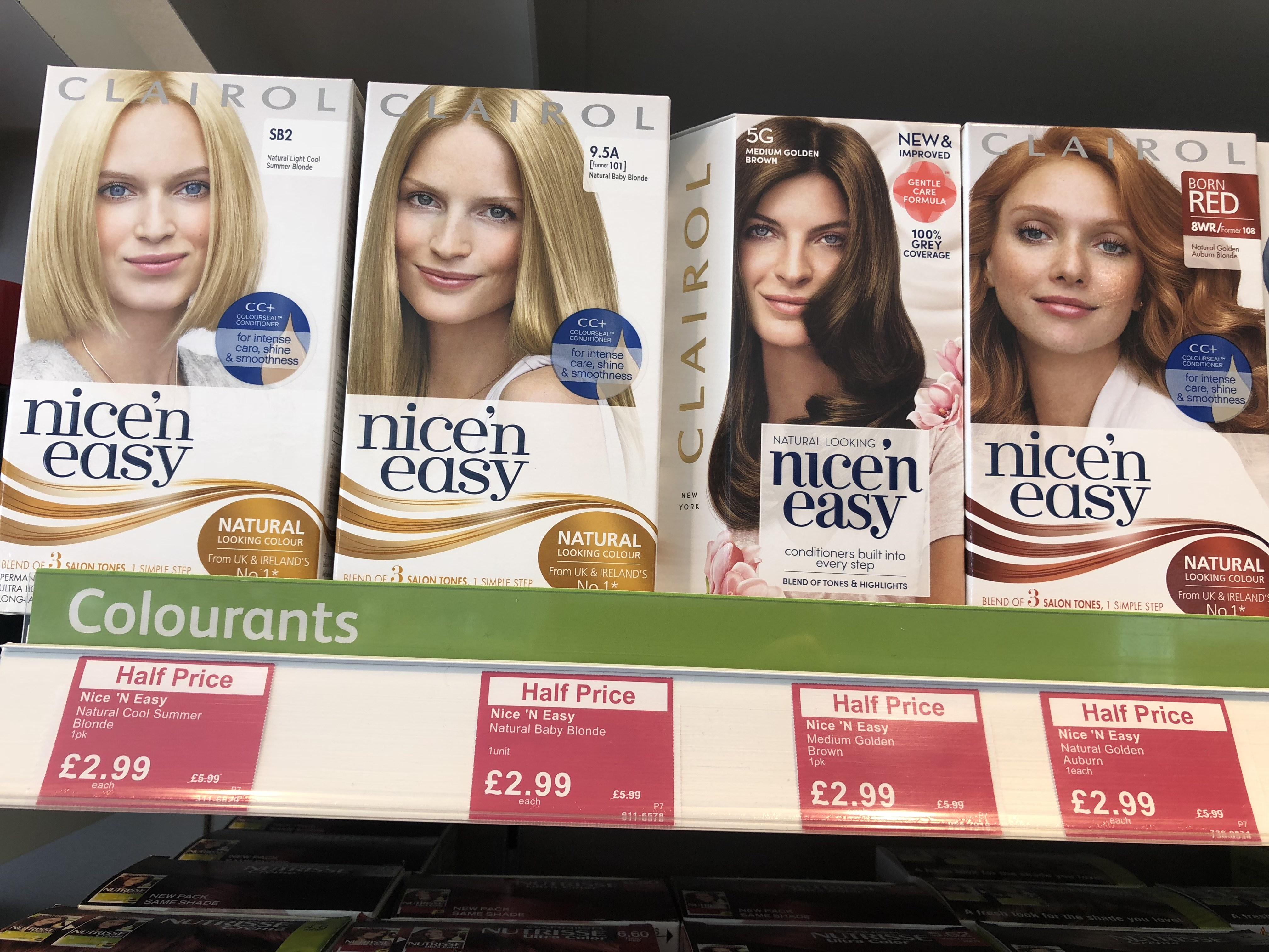 Nice n Easy Hair Colour - Lloyds Pharmacy - £2.99 online & Instore