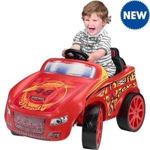 6V Racing Car in Red or Pink (was £71.99) Now £50 + £4.99 delivery at JTF