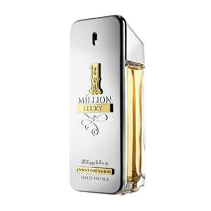 Paco Rabanne 1 Million Lucky 200ml EDT  + Free Try It Fist Sample £72.80 Delivered w/code @ The Fragrance Shop