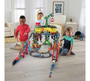 Thomas and Friends Super Station playset now £74.99 with code plus 2 Trackmaster trains for £22.50 @ Argos