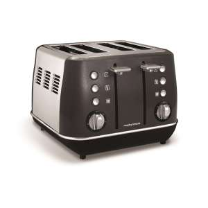 Morphy Richards Evoke 4 slice toaster £39 @ Hughes with free next day delivery