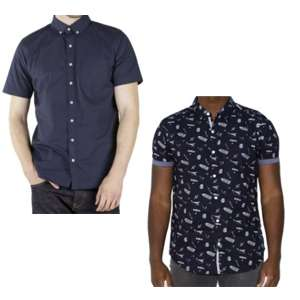 40% off full price shirts w/code @ Republic Union - E.G  Pintoo Mens Smart Short Sleeve Shirt £6 Delivered (See OP)