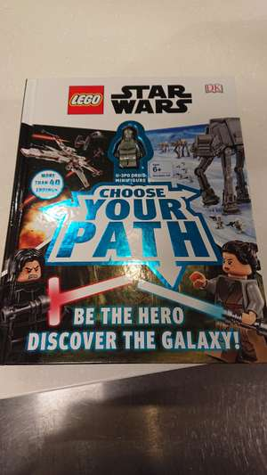 LEGO Star Wars choose your own path book @ TK Maxx instore - £4.99
