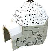 Colour in cardboard playhouse. Rocket. Shop. Fairy House. Castle. Stage. Dolls House. Playhouse. - £8.50 @ Hobbycraft (free C&C over £10)