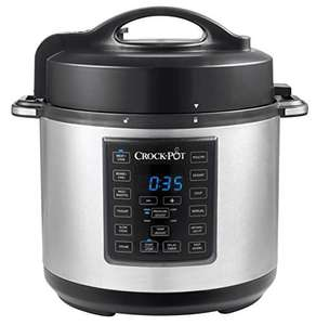 Crock-Pot Express Pressure Cooker CSC051, 12-in-1 Programmable Multi-Cooker, Slow Cooker, Steamer and Saute, 5.6 Litre £69.99 @ Amazon
