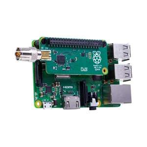 NEW out today: Raspberry Pi DVB TV HAT: view digital terrestrial TV on a Raspberry Pi or create a TV server = £22.99 incl del @ The Pi Hut