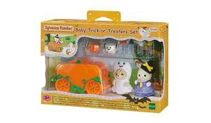Sylvanian Families Baby Trick or Treat Set £7.97 @ George