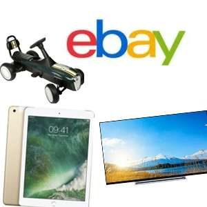 From 10am - 10% off Everything @ eBay UK (See post for Examples) Ends at 8pm TONIGHT