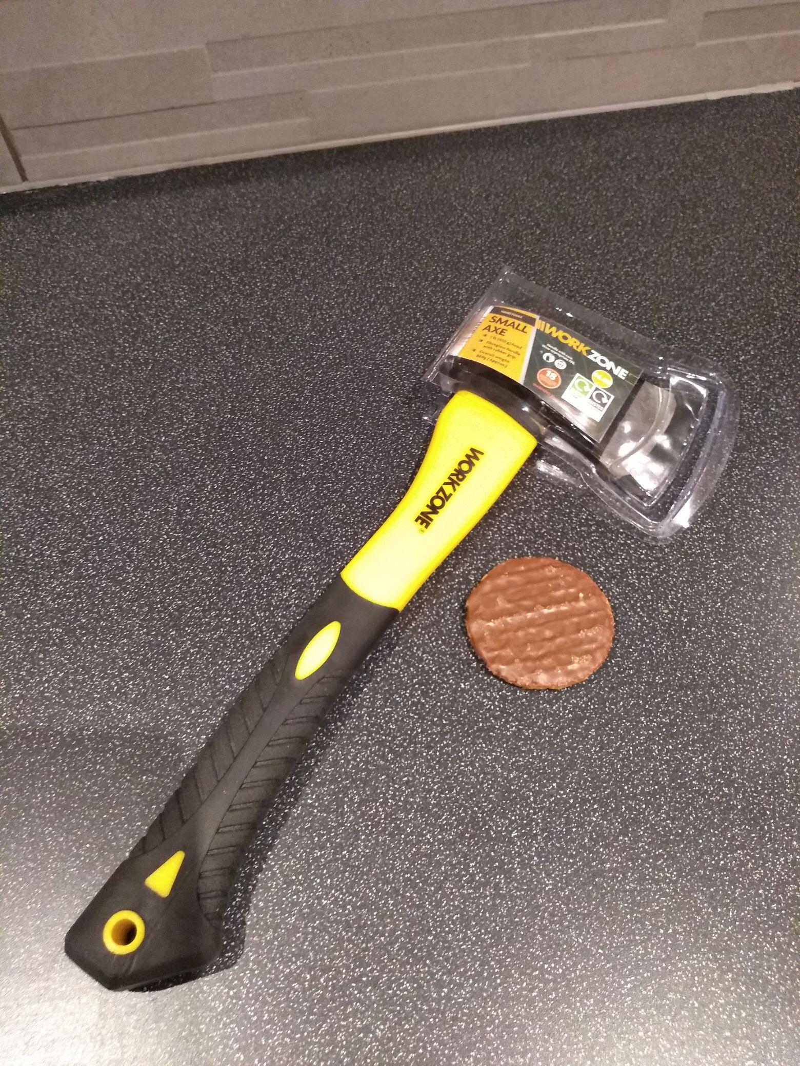Small axe at Aldi - £4.99