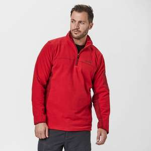 PETER STORM Men's Panelled Half Zip Fleece - £9 @ Blacks