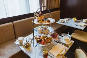 Afternoon Tea for 2 with Bottle of Bubbly & Spa Access @ 5* The Chilworth Paddington London £39 @ Wowcher