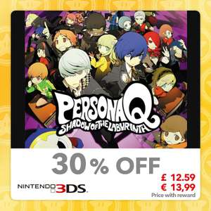 Persona Q: Shadow of the Labyrinth £12.59 [3DS] & More @ Mynintendo