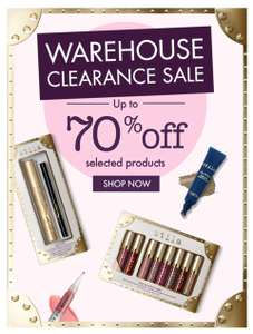 Stila Clearance sale, up to 70% off