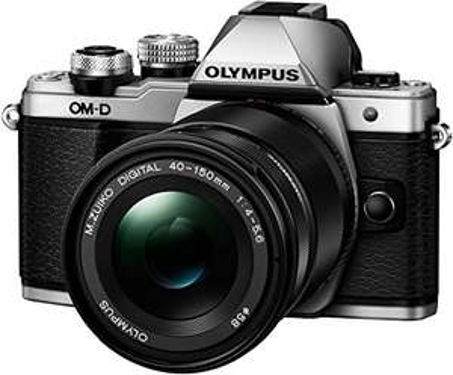 Olympus OM-D E-M10 Mark II Compact System Camera - 14-42 EZ Lens + 40-150 mm R, Silver £529 @ Amazon