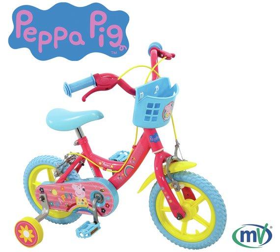 "Peppa Pig My First Bike - 12"" Wheel @argos"