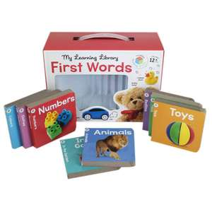 My Learning Library - First Words 8 chunky board books £5.60 C+C with code - The Works