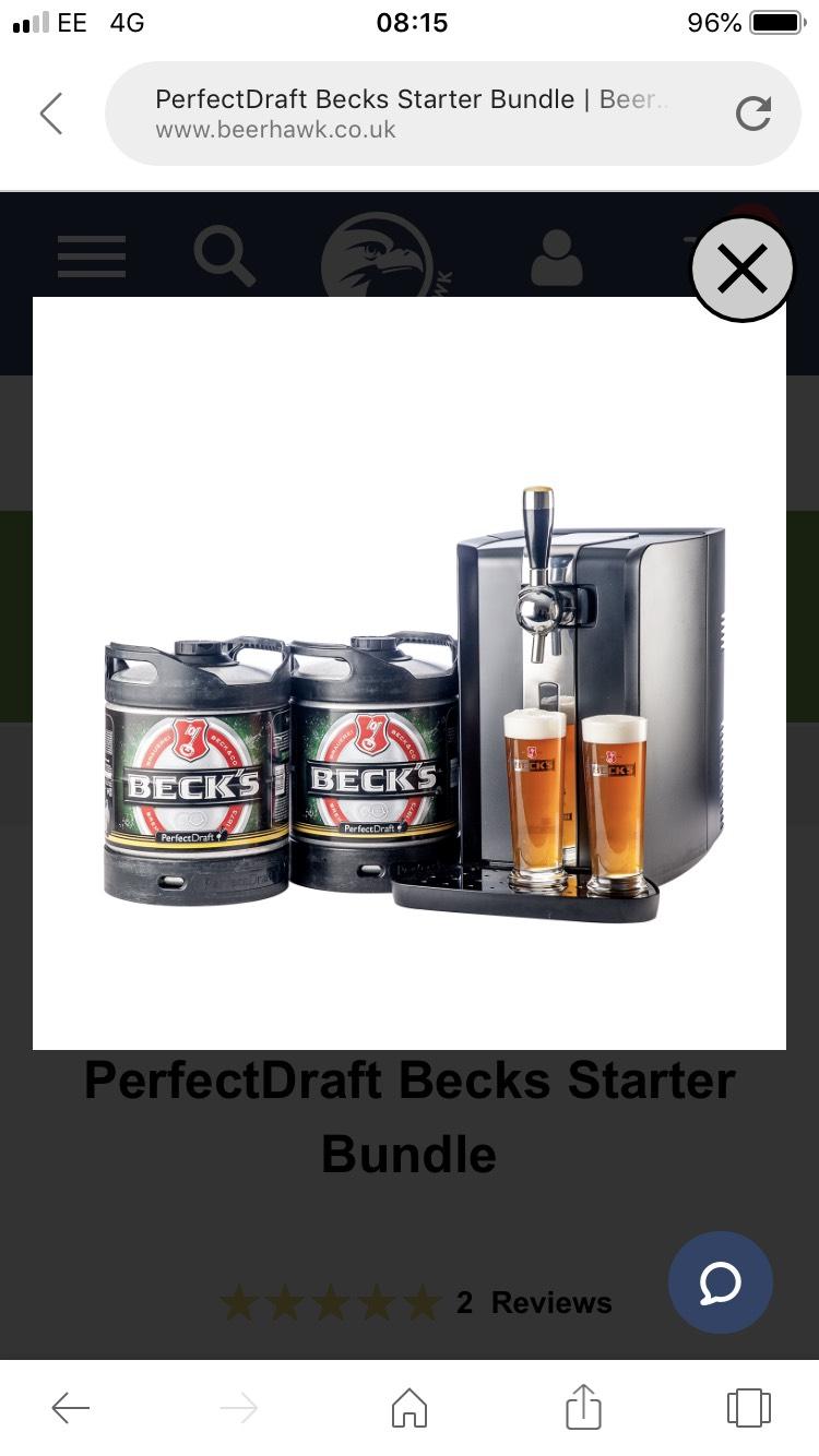 PerfectDraft Becks Starter Bundle at Beer Hawk for £229