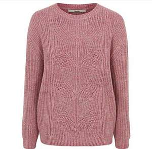 Pink knitted jumper (XL Only) £7 free c+c @ George