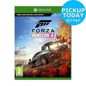 Forza Horizon 4 Microsoft Xbox One £36.89 Click + collect with code @ Argos ebay - from 10am
